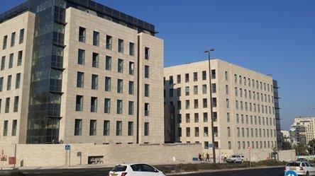 קריית הממשלה ג'ינרי 1 ו-2 ירושלים - בנק ישראל 5 ירושלים
